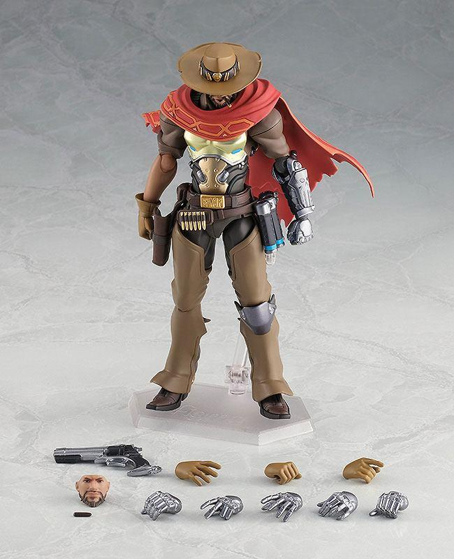 Overwatch figurine articulee figma mccree 16 cm good smilecompagny 6
