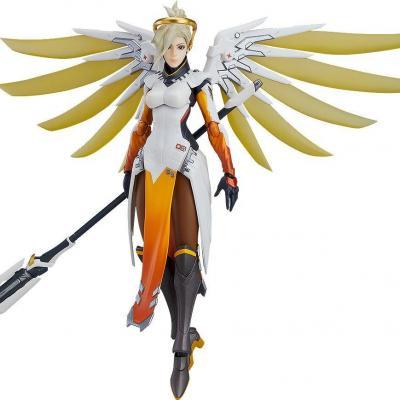 Overwatch figurine Figma Mercy 16 cm