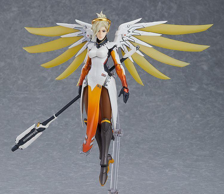 Overwatch figurine figma mercy 16 cm 2
