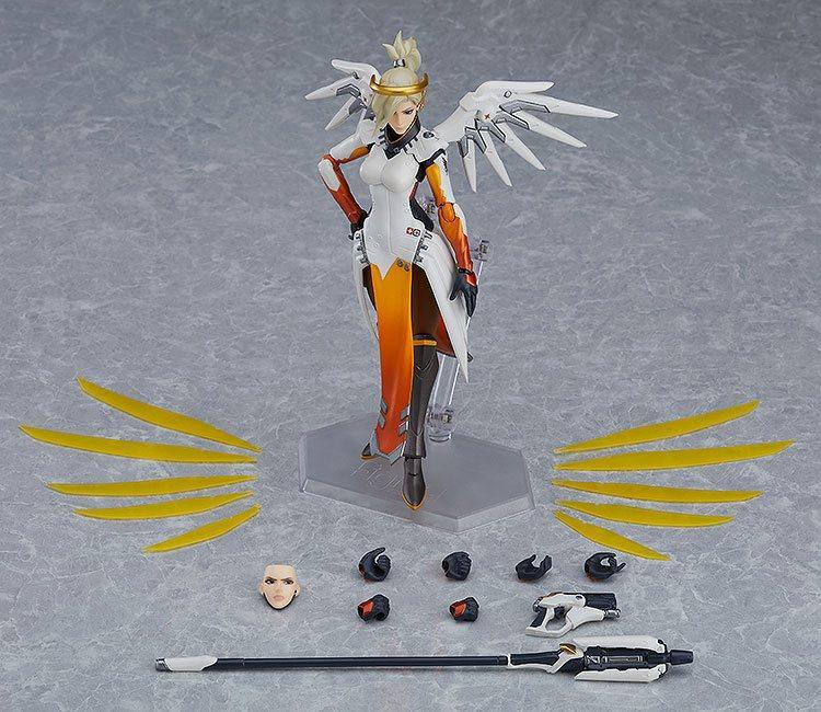 Overwatch figurine figma mercy 16 cm 5