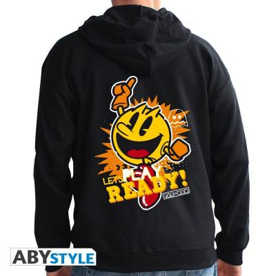 Pac man sweat let s play homme black