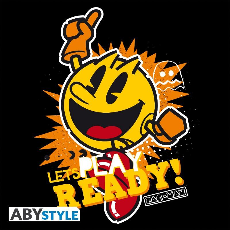 Pac man sweat let s play homme black 1