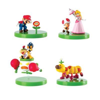 Super Mario présentoir 12 figurines à construire Mystery Pack