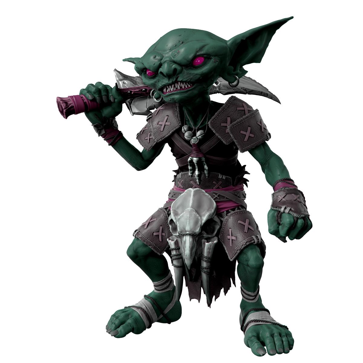 Pathfinder replique life sized goblin