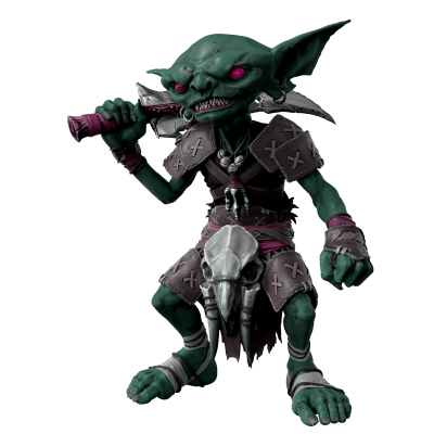 Pathfinder replique life sized goblin