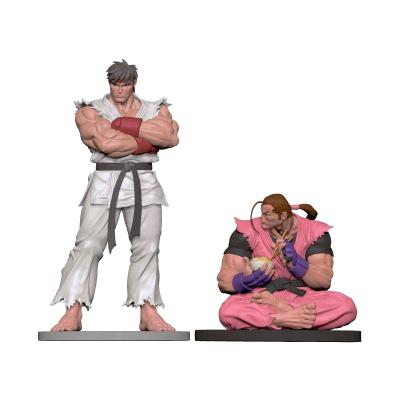 Pcs collectibles street fighter ryu dan statuettes