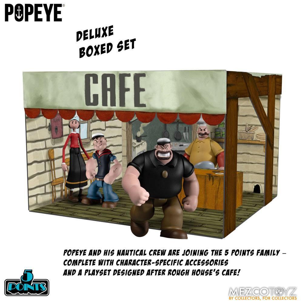 Popeye figurine mezco suukoo toys 1