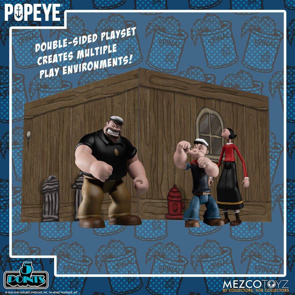 Popeye figurine mezco suukoo toys 10