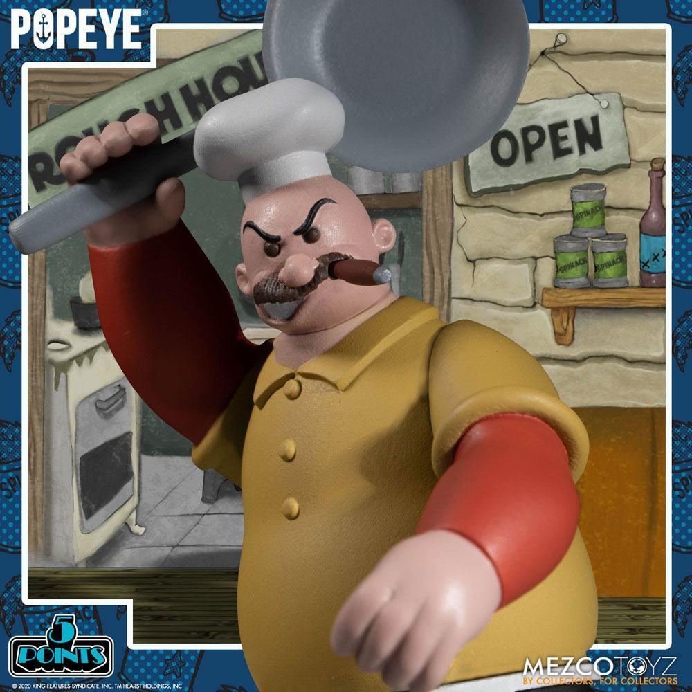 Popeye figurine mezco suukoo toys 3