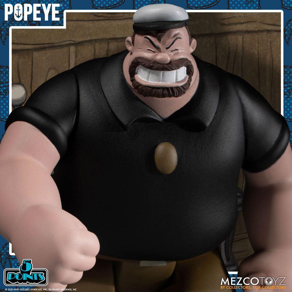 Popeye figurine mezco suukoo toys 4