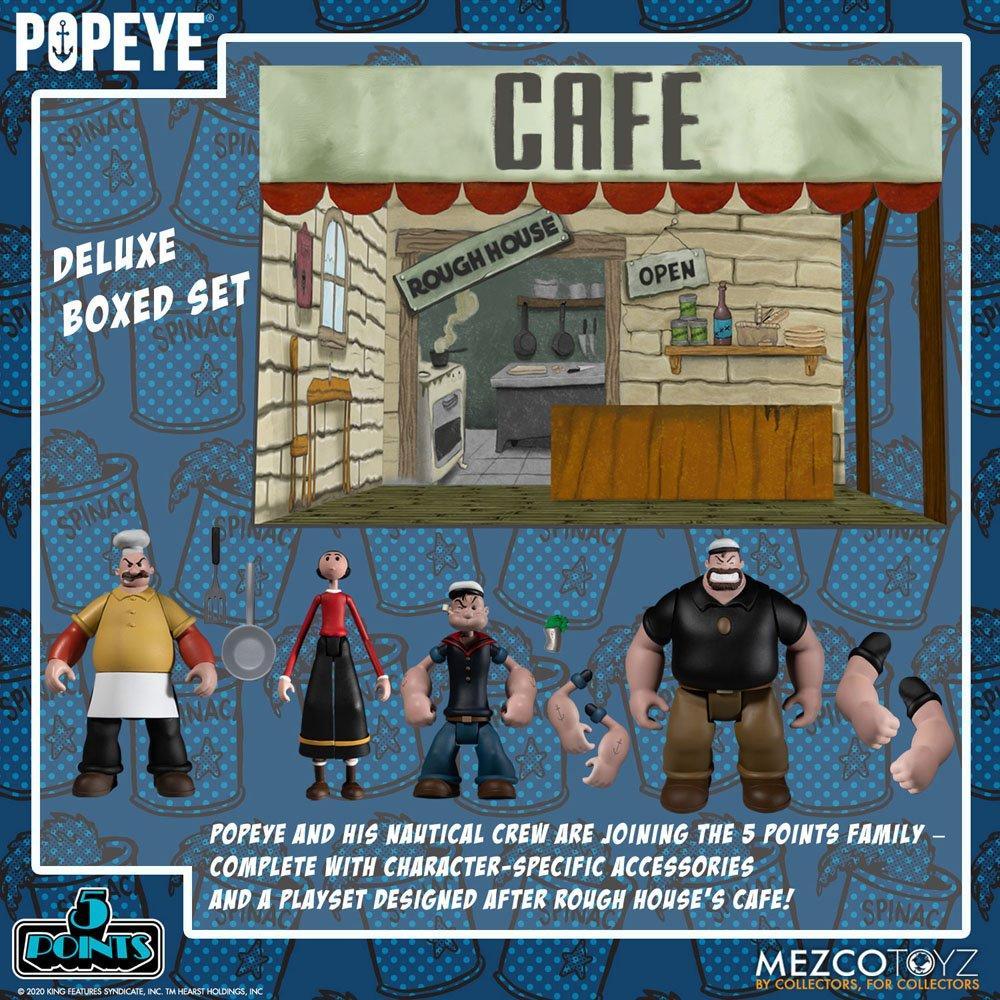 Popeye figurine mezco suukoo toys 7