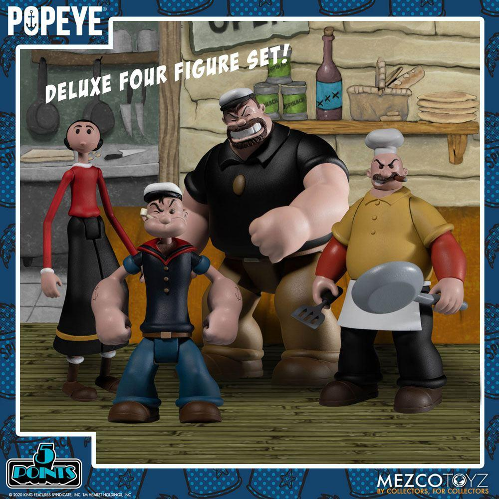 Popeye figurine mezco suukoo toys 8