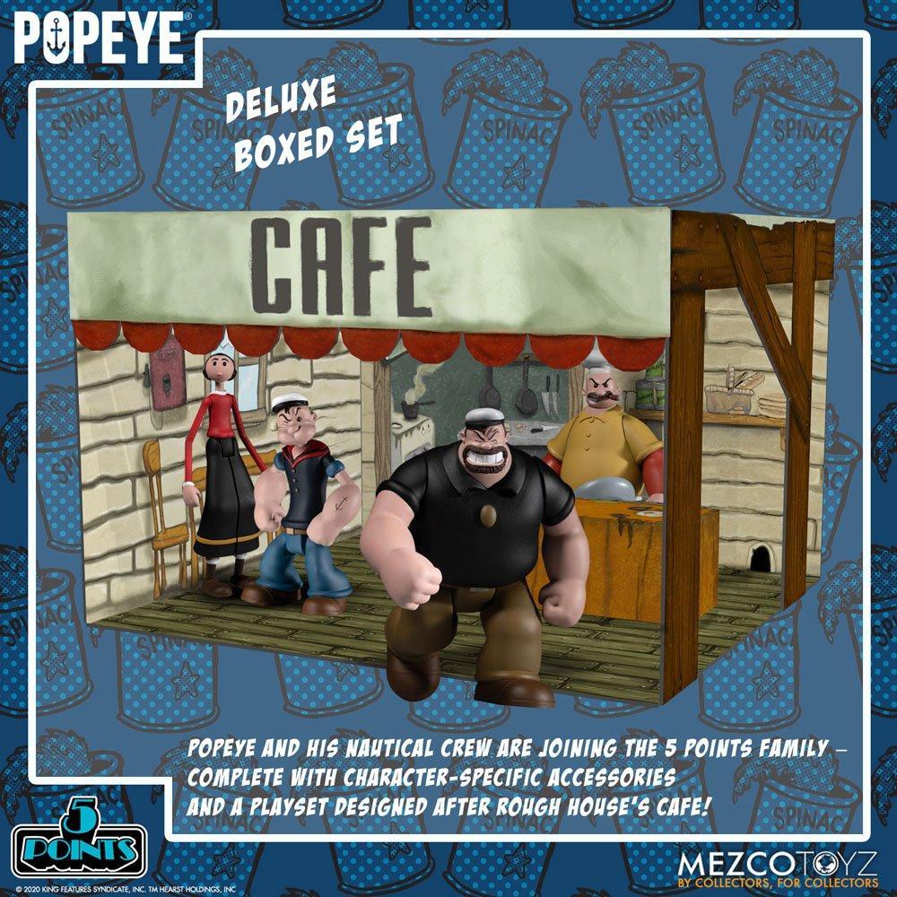 Popeye figurine mezco suukoo toys 9
