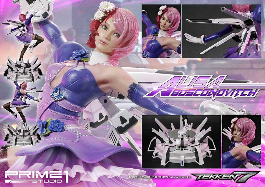 Prime 1 studio tekken 7 statuette alisa 59cm suukoo toys collection figurine 1