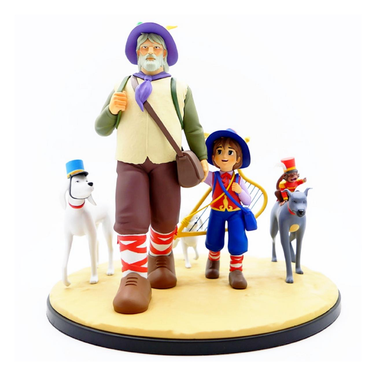 Remi sans famille resine diorama 22cm suukoo toys figurine