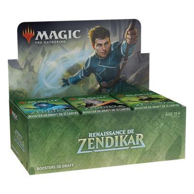 Magic the Gathering Renaissance de Zendikar présentoir boosters de draft (36) *FRANCAIS*