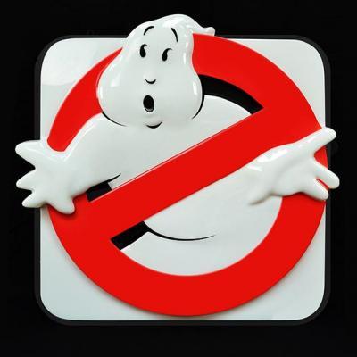 Ghostbusters réplique Logo 1/1 Firehouse Sign 75 x 80 cm SOS Fantômes
