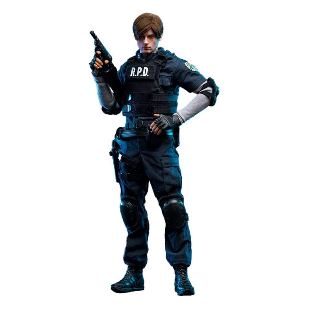 Resident evil 2 figurine 16 leon s kennedy 30 cm 1
