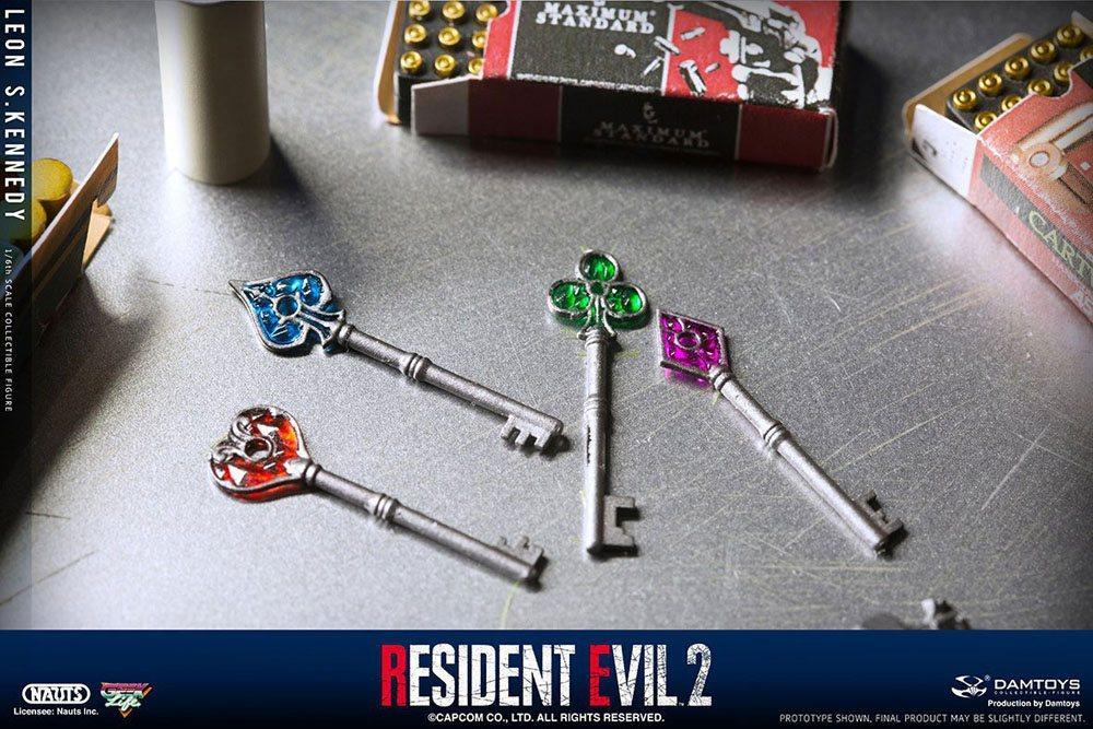 Resident evil 2 figurine 16 leon s kennedy 30 cm 15