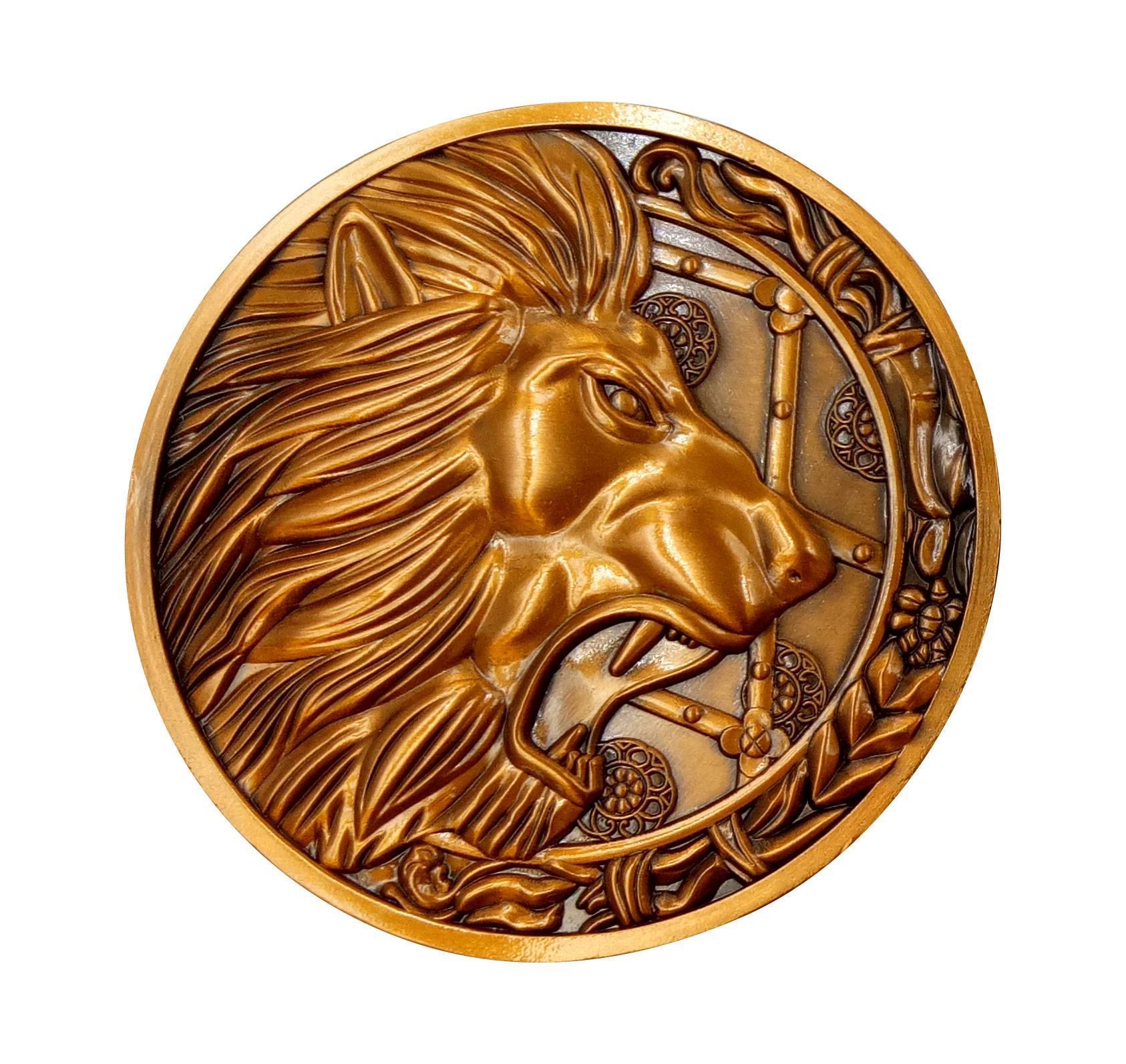 Resident evil 2 replique 11 medaillon lion 1