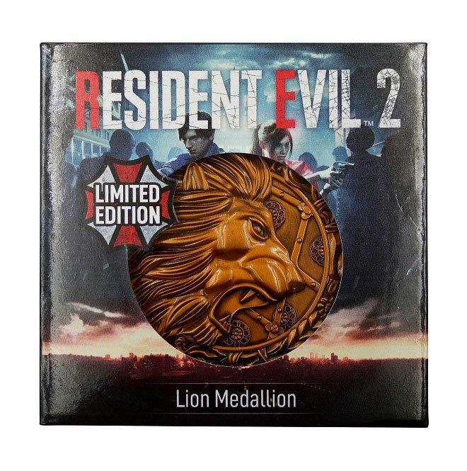 Resident evil 2 replique 11 medaillon lion 3