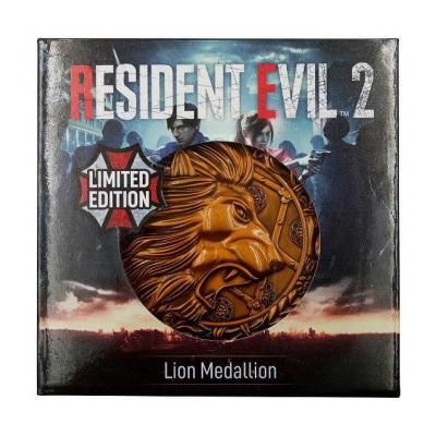 Resident evil 2 replique 11 medaillon lion 3