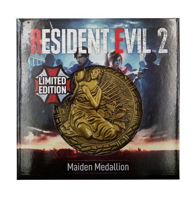 Resident evil 2 replique 11 medaillon maiden 3