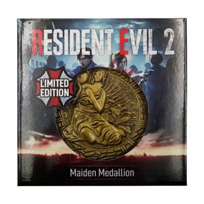 Resident evil 2 replique 11 medaillon maiden 3