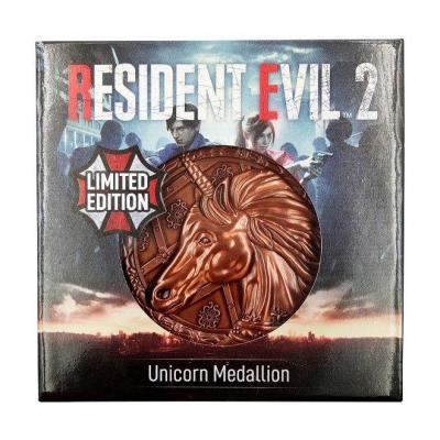 Resident evil 2 replique 11 medaillon unicorn 3