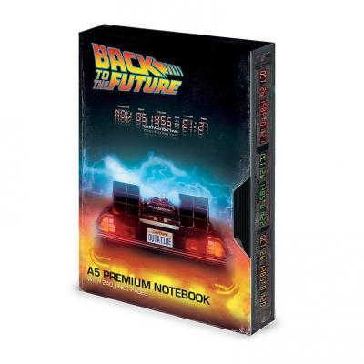Retour vers le Futur carnet de notes Premium A5 Great Scott VHS