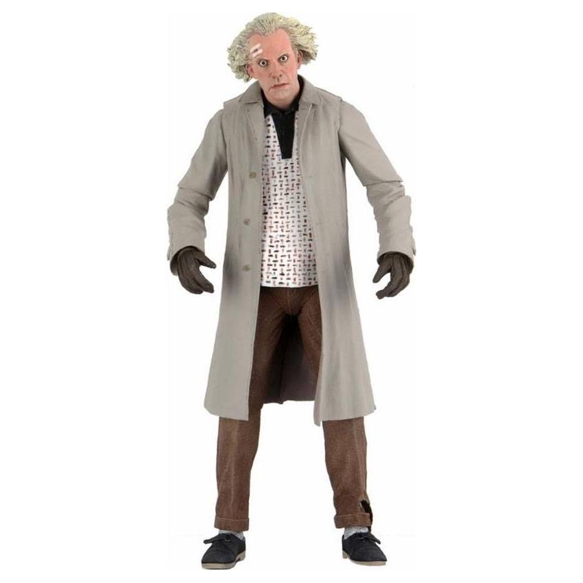 Retour vers le futur figurine ultimate doc brown 18 cm neca