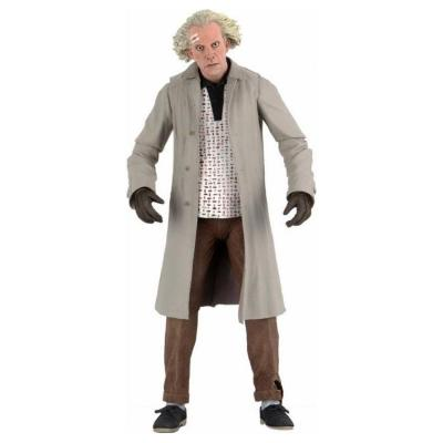 Retour vers le futur figurine ultimate doc brown 18 cm neca