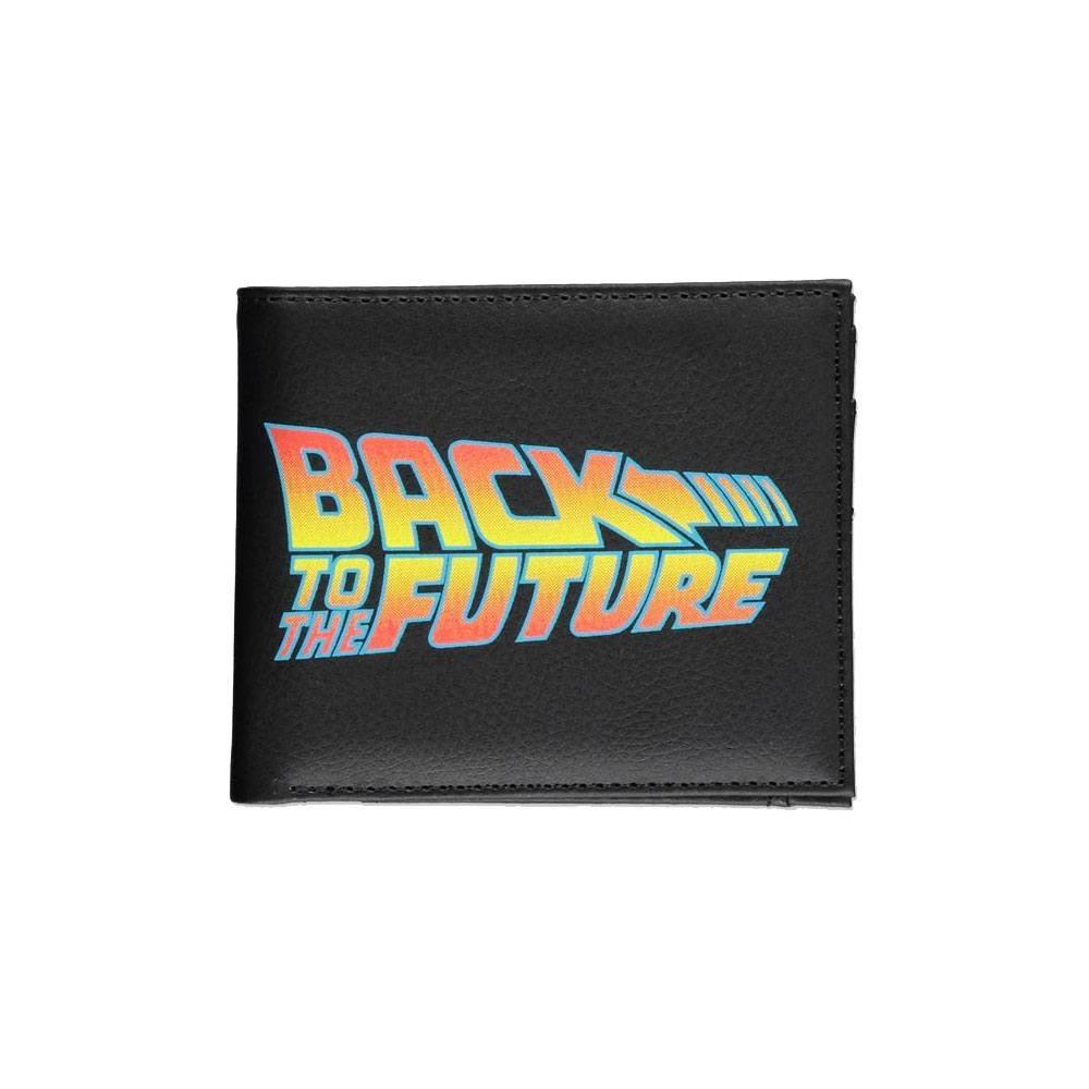 Retour vers le futur porte monnaie bifold titre back to the futur porte feuille 1