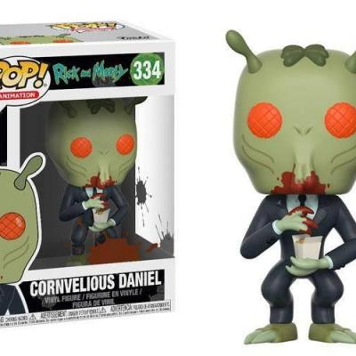 Rick et Morty Figurine POP! Animation Vinyl Cornvelious Daniel 9 cm