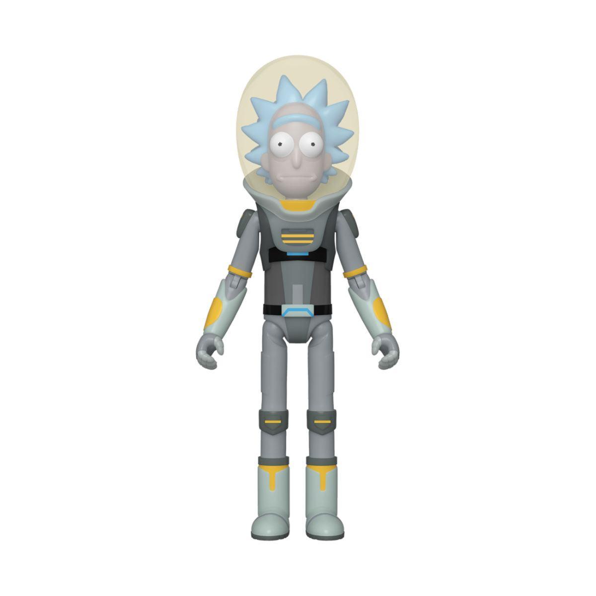 Rick morty figurine space suit rick 10 cm