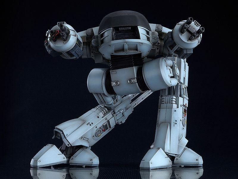 Robocop figurine moderoid plastic model kit ed 209 20 cm maquettes 3
