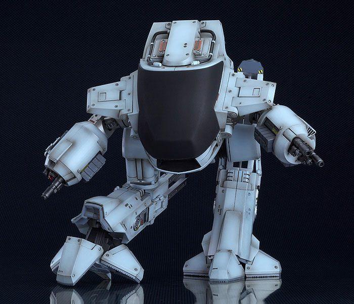 Robocop figurine moderoid plastic model kit ed 209 20 cm maquettes 8