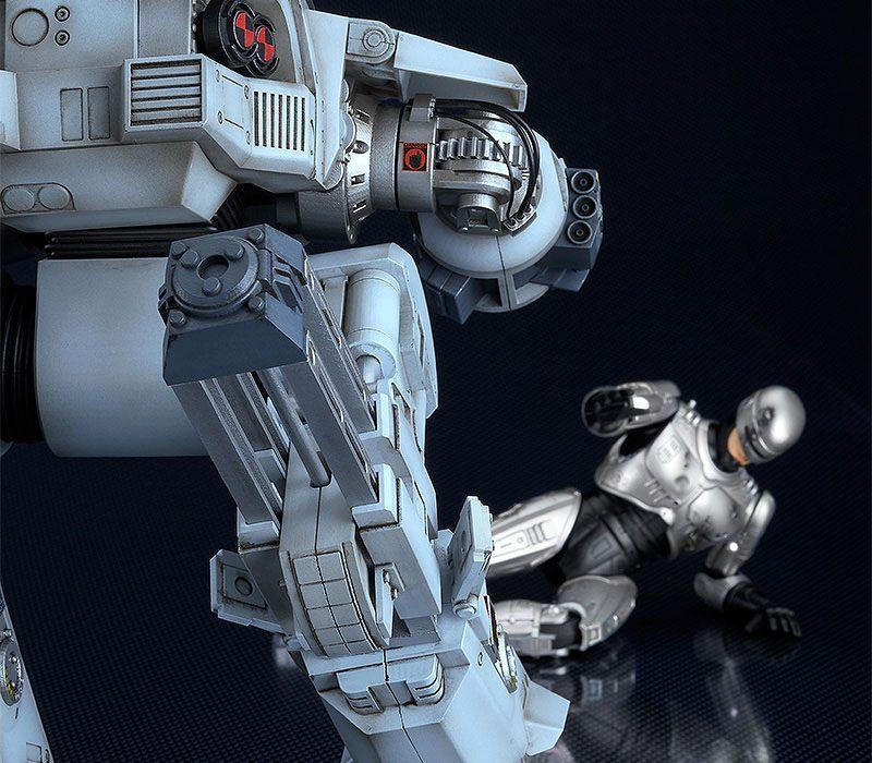 Robocop figurine moderoid plastic model kit ed 209 20 cm maquettes 9