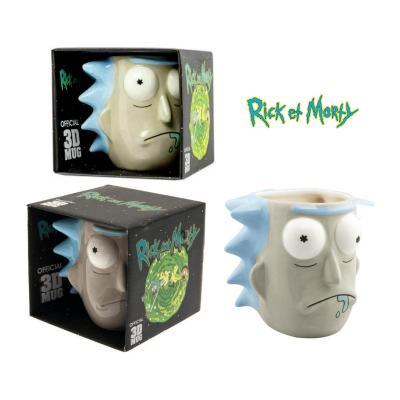Rick & Morty mug 3D Rick Sanchez