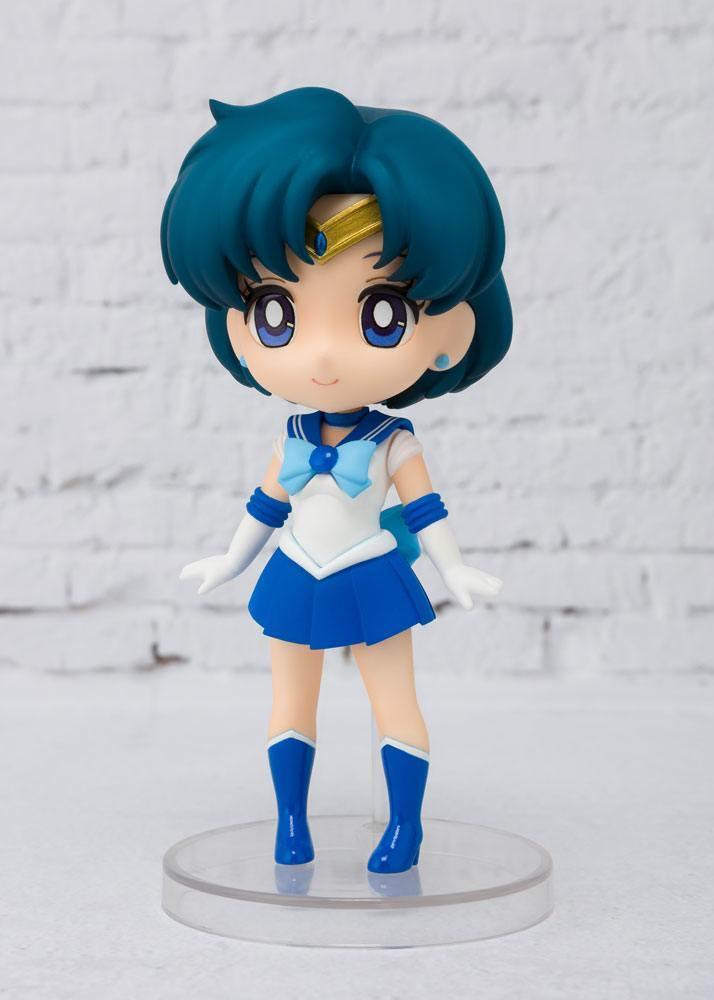 Sailor moon figurine figuarts mini sailor mercury 9 cm 3