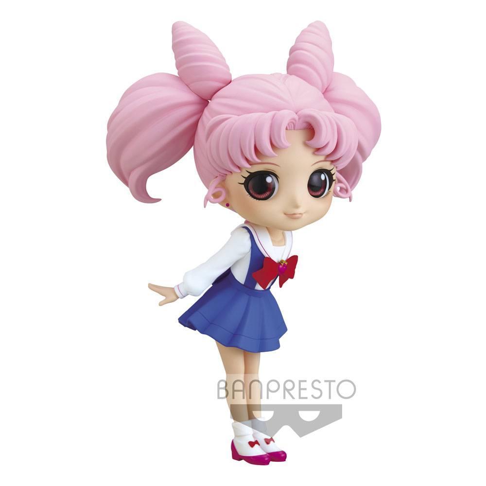 Sailor moon figurine q posket chibiusa ver a 14 cm