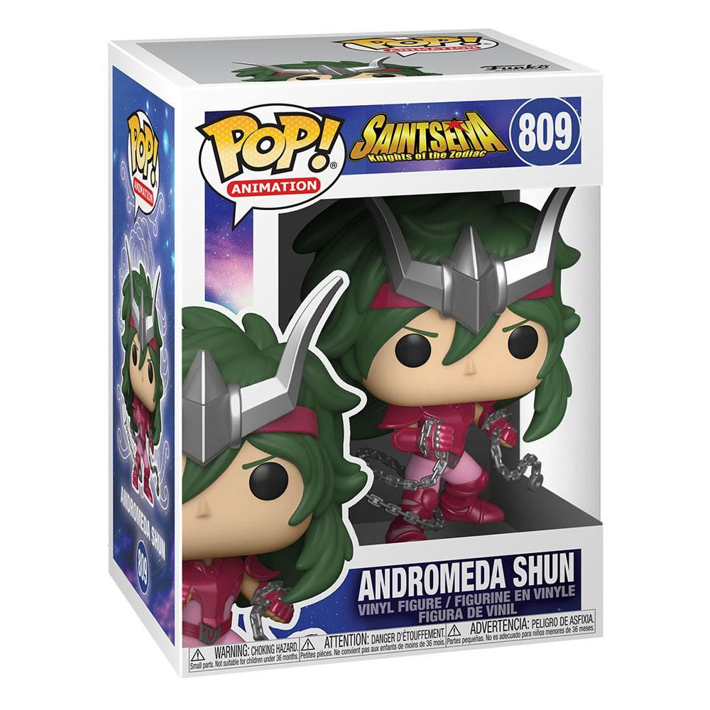 Saint seya figurine pop animation vinyl andromeda shun