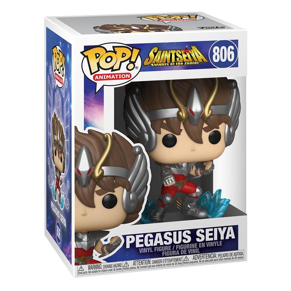 Saint seya figurine pop animation vinyl pegasus seiya 9 cm 2