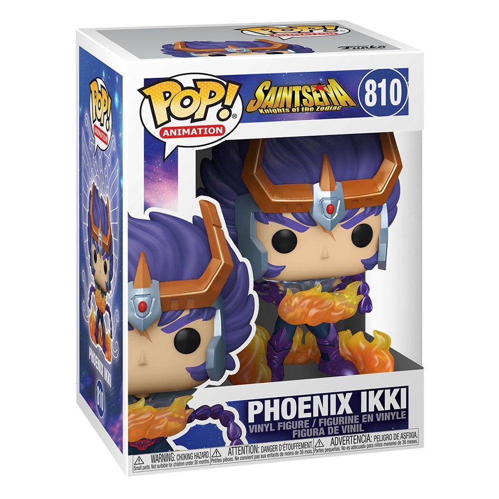 Saint seya figurine pop animation vinyl phoenix ikki 9 cm 2