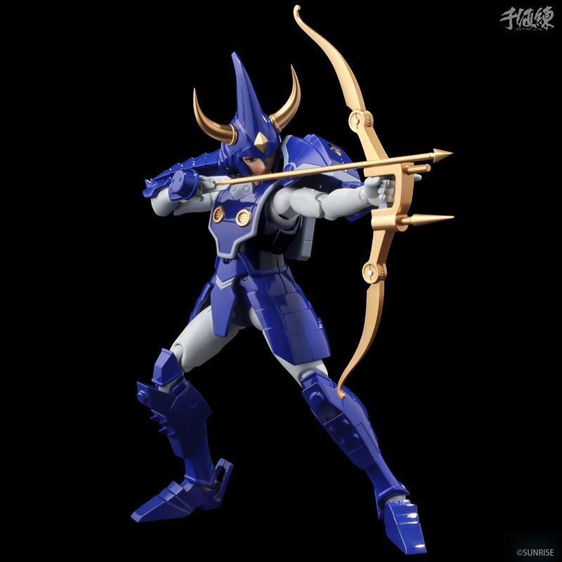 Samourai troopers toma hashiba figurine 16cm les samourais de l eternel sentinels toys 10