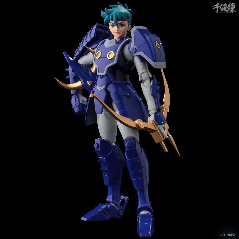 Samourai troopers toma hashiba figurine 16cm les samourais de l eternel sentinels toys 6