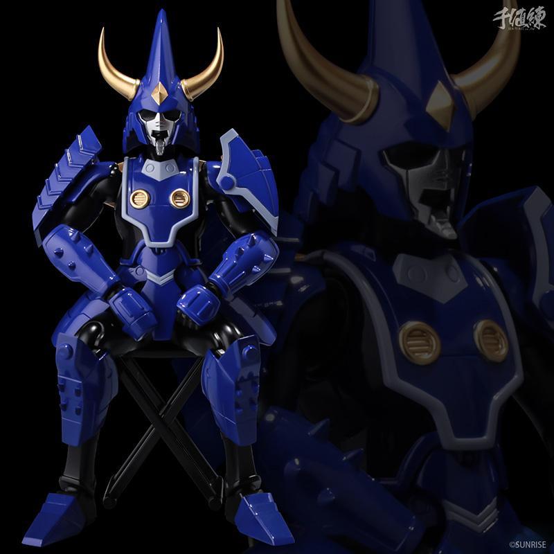 Samourai troopers toma hashiba figurine 16cm les samourais de l eternel sentinels toys 7