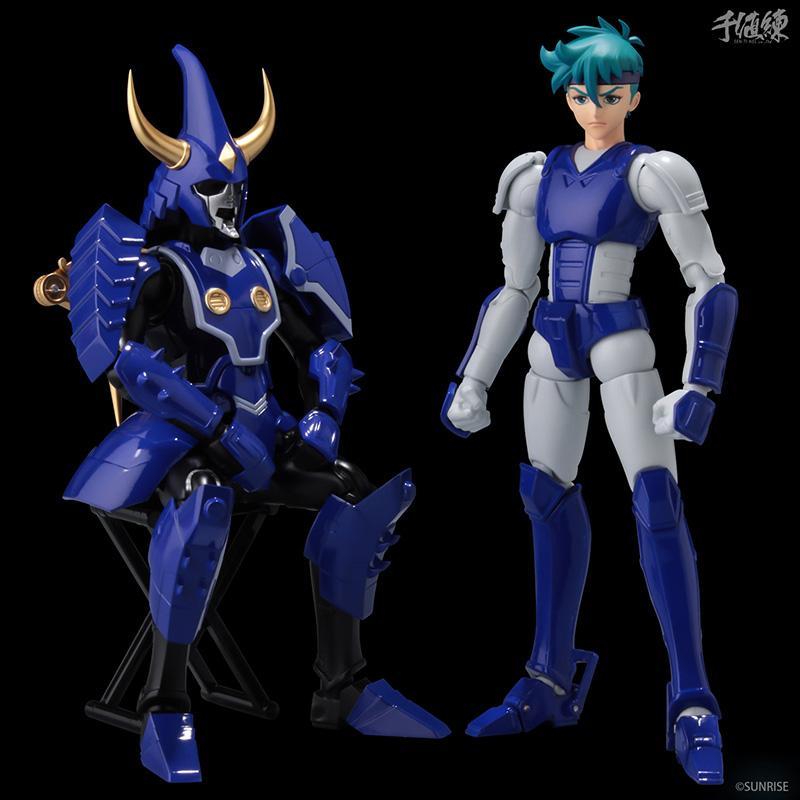 Samourai troopers toma hashiba figurine 16cm les samourais de l eternel sentinels toys 8