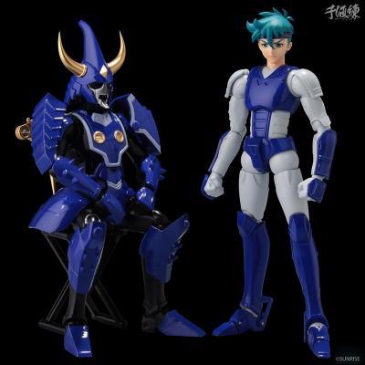 Samouraï Troopers -TOMA HASHIBA figurine 16cm - les samouraïs de l'éternel -Sentinels Toys