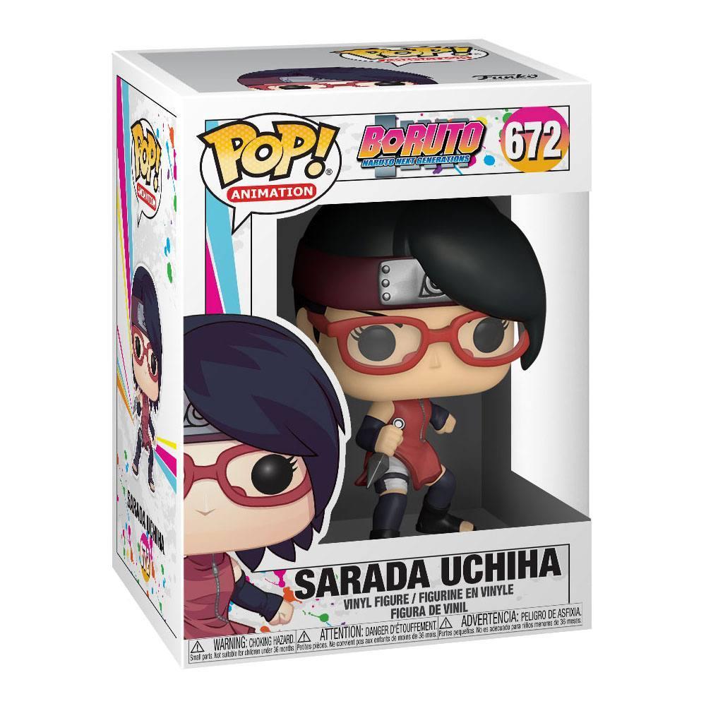 Sarada boruto funko pop figurine 2